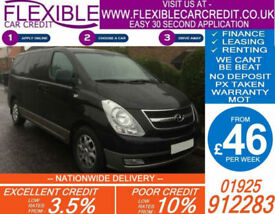 HYUNDAI i800 2.5 CRDI AUTO 8 SEATER GOOD / BAD CREDIT CAR FINANCE AVAILABLE