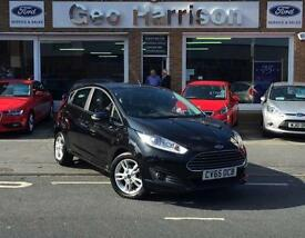 Ford Fiesta 1.0 T 100ps EcoBoost Zetec 5dr - JUST 7,250 MILES