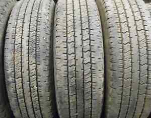 4 Tires sized 235.75.17 at 90-95% Tread left on them