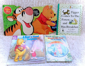 Big Lot Of Vintage And New Winnie The Pooh Childrens Books