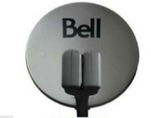 """20"""" BELL HIGH DEFINITION SATELLITE DISH WITH 2 DUAL LNB'S"""
