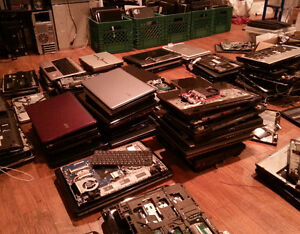 75 laptops for parts