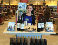 Brand Ambassadors Needed For LCBO Events  Sep 1 - $18/hr