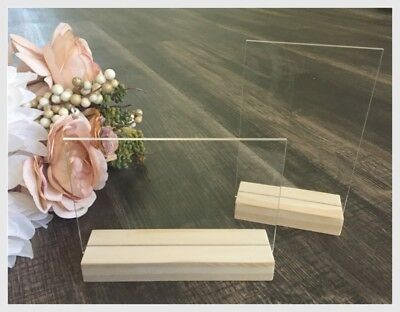 Acrylic Blank Signs and Stands - DIY Acrylic Sign - Acrylic Wedding Sign Blanks - Wedding Signs Diy