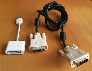 DVI to HDMI adapter with 5' DVI cable