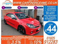 2009 VAUXHALL ASTRA 2.0 VXR RACING EDT GOOD / BAD CREDIT CAR FINANCE FROM 44 P/W