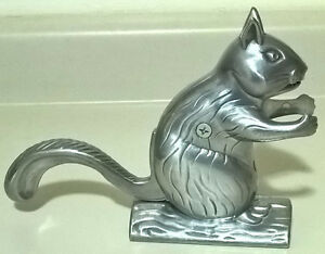 Squirrel Heavy Duty Cast Aluminum Nutcracker