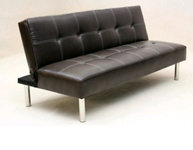 Click clack Sofabed black ⚫ or brown colours available free local to
