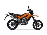 NEW KSR TW 125, 125CC MOTORCYCLE, £11.17 PER WEEK