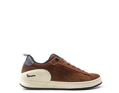 Shoes VESPA Man Sneakers trendy MARRONE Suede V00005-300-26
