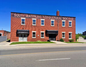 Brick & Beam Office Space Fronting onto the Grand River in Galt