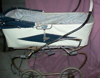 Ancienne poussette Gendron / Old carriage Gendron