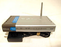MINT D-Link AirPlus Xtreme G DI-624 Wireless Router with Adapter