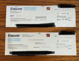 Ensure Cheques For Trade