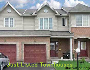 Just listed Townhouses. 23 New listings!
