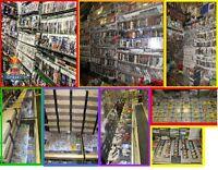 DVD----DVD+BLU-RAY DISC ---VHS --- VYNYLE-- + 18 MILLE FILM