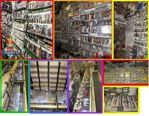 DVD 3 POUR 5$ BLU RAY DISC 2 POUR 5$  VHS 2 POUR 1$ INCROYABLE!