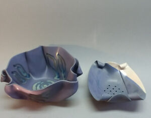 Hilborn Canadian Contemporary pottery. Signed. Large.Two pieces.