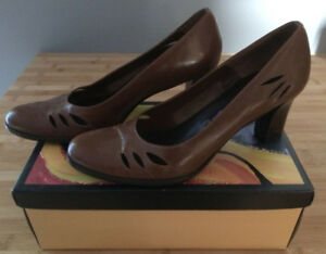 Women's Brown Leather Shoes
