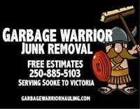 Garbage Warrior Junk & Yard Waste Removal - Free Estimates