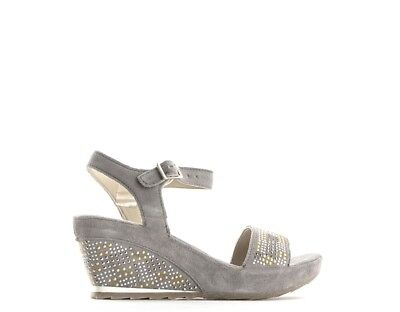 Shoes Khrio 'Woman Wedges Grey Suede 2700GR