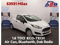 2014 14 FORD FIESTA 1.6 ECONETIC TDCI STOP START, AIR CON, AUX, USB, BLUETOOTH E