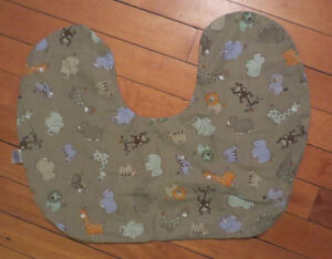 Zoo Friends Breast Feeding Pillow Cover with Zipper