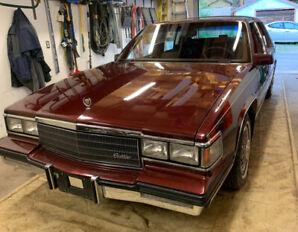 1985 Cadillac Fleetwood d'elegance