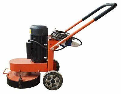 Hand Push Cement Ground Concrete Floor Grinder Polishing Machine 220v