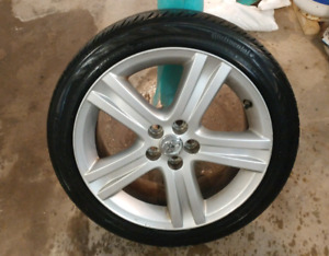 Alloy Wheels with Tires