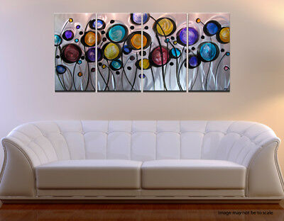 Modern Abstract Metal Wall Art Painting Sculpture HUGE! for sale  Shipping to Canada