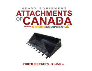 Skid Steer Forks, Buckets, Grapples - Canadian Built