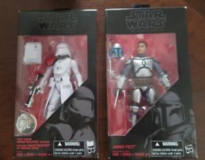 2 Brand New Star Wars Black Series Figures