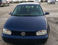 2004 Volkswagen Golf TDI 5-speed manual