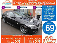2012 BMW 318 2.0 SPORT PLUS EDITION GOOD / BAD CREDIT CAR FINANCE FROM 69 P/WK