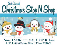 Christmas Stop N Shop - Craft Sale - Free Entry