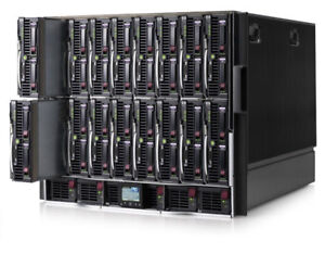 HP G7 Blade Server System. With 14 Blades and C7000 Chassis