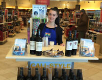 Brand Ambassadors Needed for LCBO Promotions - $18/hr