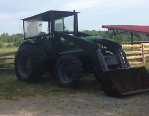 DEUTZ D6806,4WD,4 CYL,DIESEL TRACTOR WITH FREY LOADER  -AIR COOL