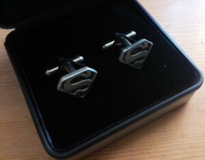 Mens Cuff links - Superman