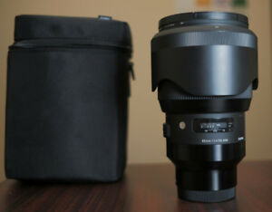 Sigma Art 85mm F1.4 DG HSM for Sony E-Mount