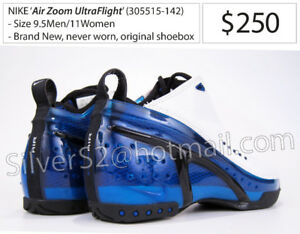 -NIKE 'Air Zoom UltraFlight'  (White/Royal Blue, Black) Sz. 9.5-