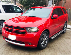 2013 Dodge Durango RT AWD Leather 7 Passenger Sunroof
