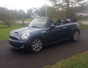 Mini Cooper S convertible for sale.