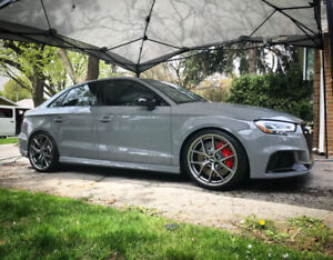 Lease Take Over 2018 Audi RS3 Sedan Nardo Grey ***Extras***