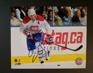 NHL signed 8x10 photos $20 each/chacun autograph photos Habs