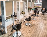 Hairdresser chair rental & part time