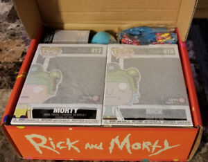Funko Rick and Morty Blips and Chitz Mystery Box