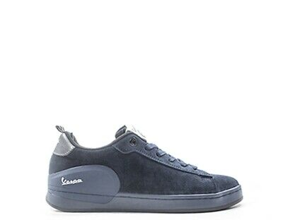 Shoes VESPA Man Sneakers trendy BLU Suede V00005-300-69