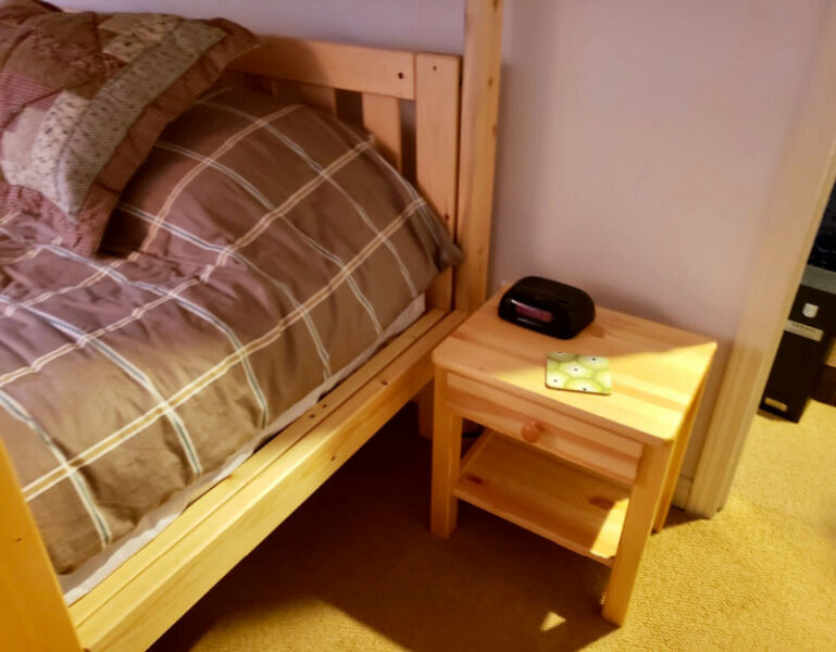 Reduced! bunk bed twin/dbl set for sale - mint condition!